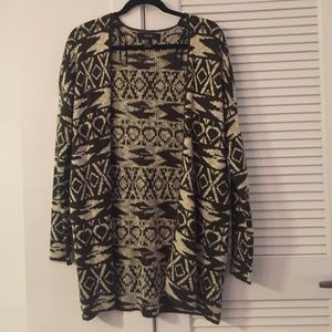 Sweaters - Forever 21 Tribal Cardigan