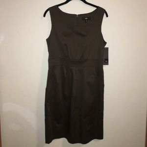NWT army green sleeveless dress
