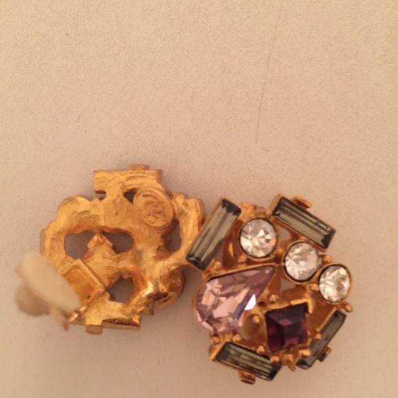 dffbdc7a079 Christian Lacroix Accessories - Christian Lacroix clip on earrings