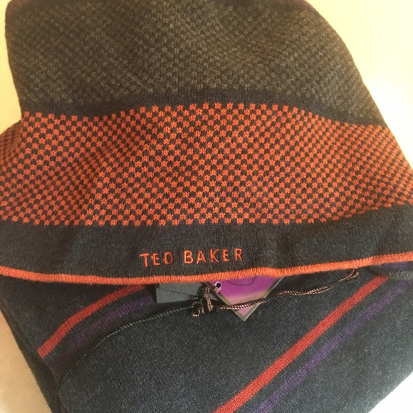 e74fc75022d681 Ted Baker knit hat and scarf for men. NWT