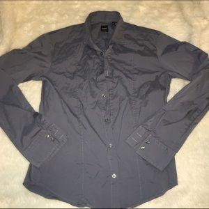 Hugo Boss Other - Hugo BOSS gray dress shirt