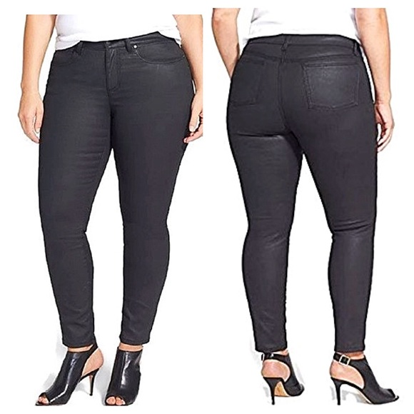 95% off ZCO Denim - Plus Size Wax Coated Jeans from Patti&39s closet