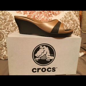 CROCS Shoes - Sassari Croc Wedge