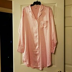 Victorias secret satin sleepshirt