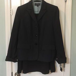 Evan Picone Dresses & Skirts - Evan Picone Black Pin stripe suit