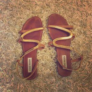 Steve Madden Greek style sandals sz 8.5