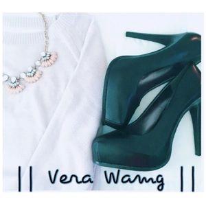 || Vera Wang || Simply Vera Black Heels