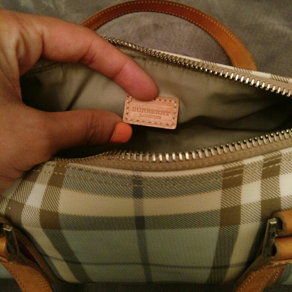 how to detect authentic burberry bag