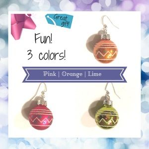 Jewelry - BUY 2 GET 1 FREE🌷 Glass Ball Earrings