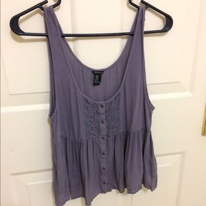 Forever 21 babydoll tank top