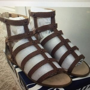 Lucky Brand Gladiator Sandals size 8