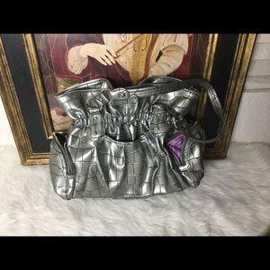 Kathy Van Zeeland Handbags - Kathy Van Zeeland Silver Handbag