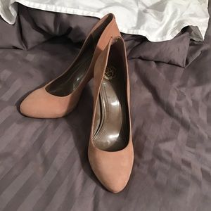 **SALE** Suede nude pumps