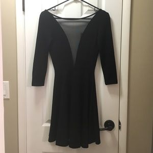 American apparel black cocktail/party dress.