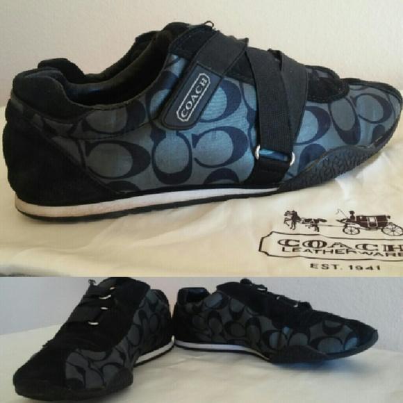 3ee5278b7e14 Coach Shoes - Coach Kyrie Velcro Sneakers