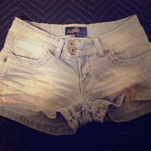 Angels Pants - Angels Jeans faded shorts