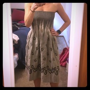 696a55803239 Anthropologie Dresses | Lapis Strapless Dress | Poshmark