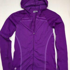 Athleta Purple Running Jacket