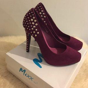 Mixx Maroon Heels