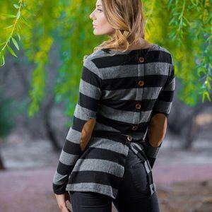 SALE Stripes Sweater