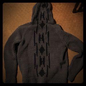 Loomstate ORGANIC Knit Recycle Cotton Ribbon hoodi