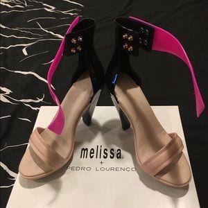 Melissa Shoes - Melissa shoes x Pedro lourenco jelly strap heel