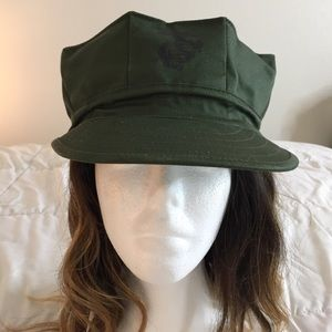 Army Green Military Hat