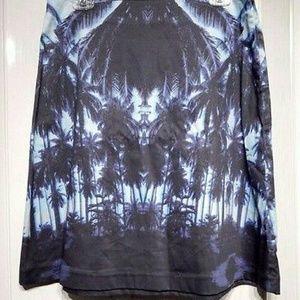 Dresses & Skirts - Joe Fresh Purple Tropical Print Skirt