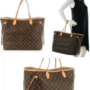 Auth LOUIS VUITTON neverfull GM