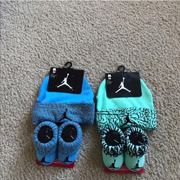 Baby Boys Nike Jordan Hat Booties