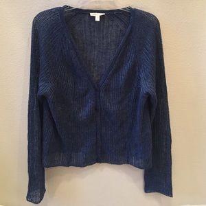 Eileen Fisher Linen Knit Cardigan