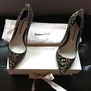 Sophia Webster leopard pumps size 38
