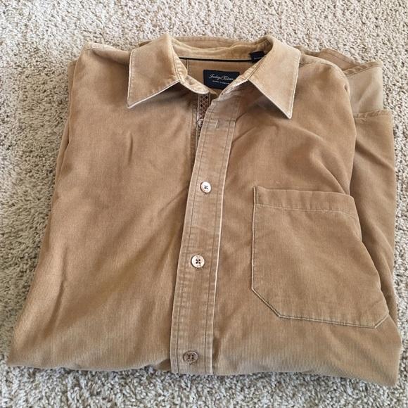 7b7e4aec942 Indigo Palms Other - Indigo Palms Corduroy Dress Shirt XL