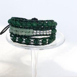 Handmade Jewelry - Handmade 3 Wrap Bracelet