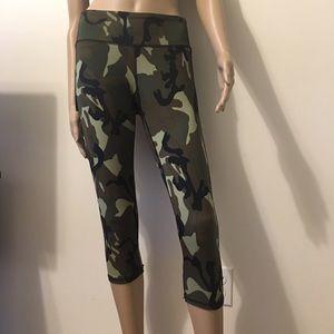 89663b80cc1bab Pants | Capri Camo Military Print Yoga Workout Leggings | Poshmark