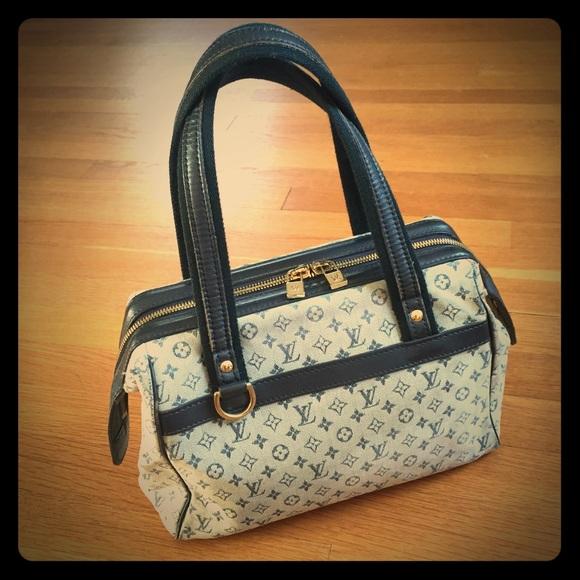 0c95825acf70 Louis Vuitton Handbags - Louis Vuitton Monogram Mini Lin Josephine Satchel
