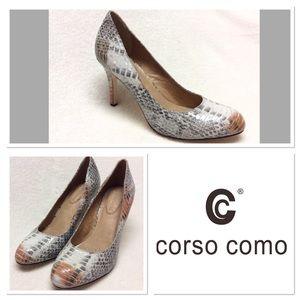 Corso Como Shoes - 7.5M CORSO COMO del pumps in snake print