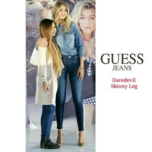 Guess Denim - GUESS DAREDEVIL LOW RISE SKINNY JEANS