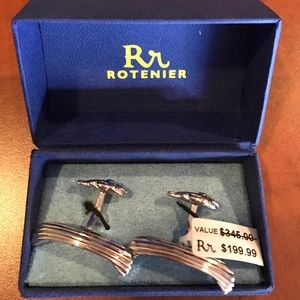 rotenier Other - Rotenier Fish/Boat cuff links
