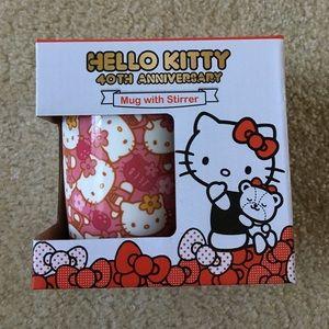 Sanrio Other - 🎀🐱 Hello Kitty 40th Anniversary Mug with Stirrer