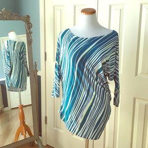 TART long sleeve asymmetric top - S