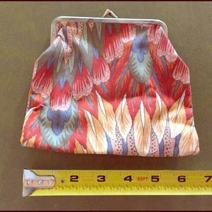 Cool vintage clutch purse  or coin bag