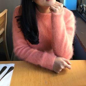 Orange Mohair Sweater Size4/6