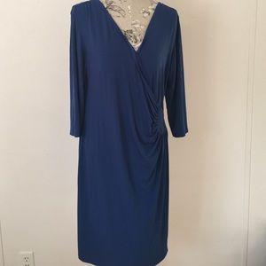 Studio Dresses & Skirts - AA Studio AA Blue 3/4 Sleeve Dress 18