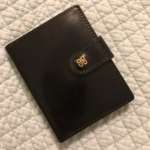Bosca Handbags - 👛24 hr SALE😵Bosca leather credit card wallet.NWT