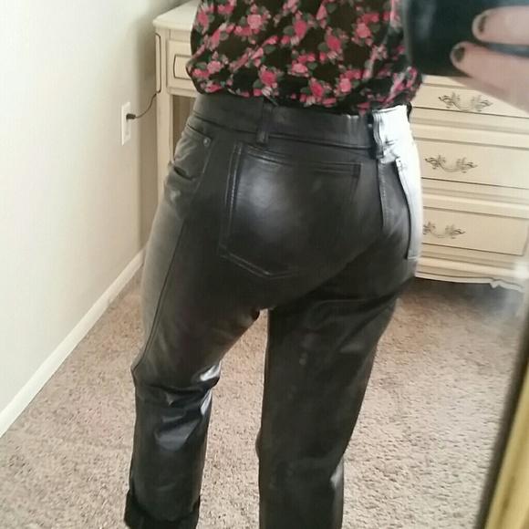 60% off Boy London Pants - vintage BOY LONDON leather