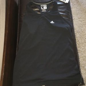 Adidas Tops - BNWT Adidas workout razorback tank in black