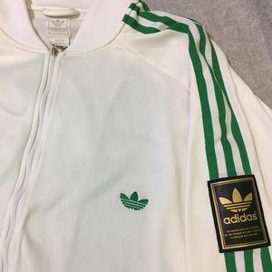 Adidas Jackets Coats Mens Vintage 3stripe Track Jacket Poshmark
