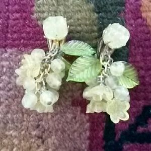 Fabulous and fun vintage clip-on costume earrings