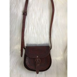 Genuine Leather Lucky Brand Crossbody Bag